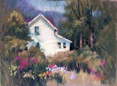 Painting - Bonny Garden by Donna Shortt
