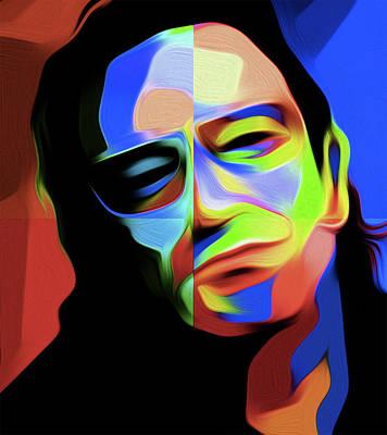Bono D1 By Nixo Art Print