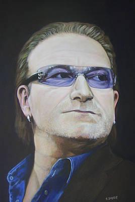 Bono Art Print by Eamon Doyle