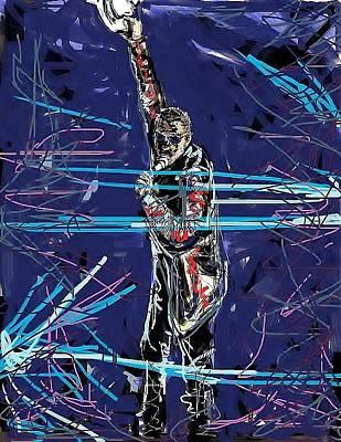 Bono Digital Art - Bono by Ken Wilson