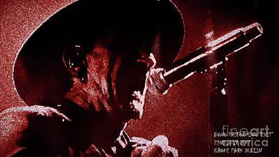 Bono Digital Art - Bono  by MichealAnthony