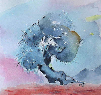 Painting - Bonsai 1 by Gloria Dietz-Kiebron