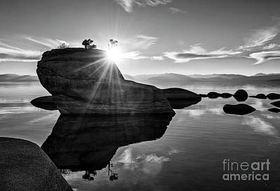 Bonsai Rock Photograph - Bonsai Mirror by Jamie Pham