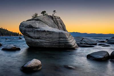 South Lake Tahoe Photograph - Bonsai Rock by Doug Oglesby