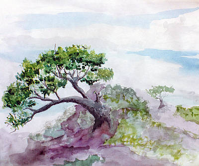 Painting - Bonsai by Steve Karol