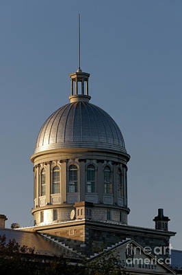 Photograph - Bonsecours Market Dome by John  Mitchell