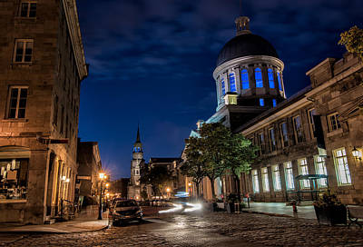 Old Montreal Photograph - Bonsecours Market by James Wheeler