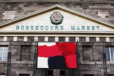 Photograph - Bonsecours Market by John Rizzuto