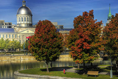 Bonsecours Market Art Print