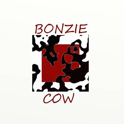 Digital Art - Bonzie Cow by Douglas Day Jones
