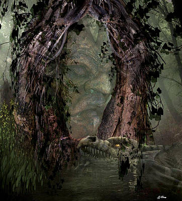 Swamp Boogie Photograph - Boogie Man by G Berry