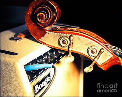 Double Bass Photograph - Boogie Street Blues  by Steven Digman