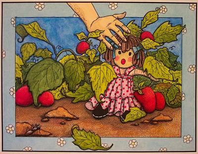 Book Illustration Art Print by Victoria Heryet