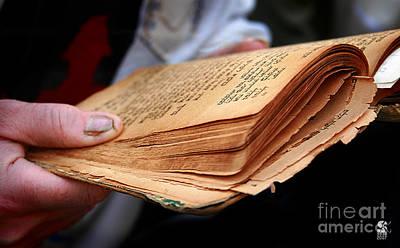 Book Torah Art Print by Stas Krupetsky