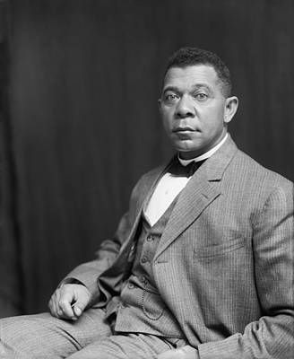Booker T. Washington Art Print