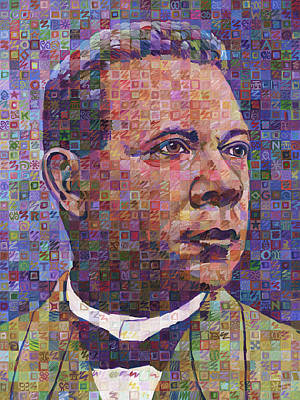 Booker T. Washington Art Print