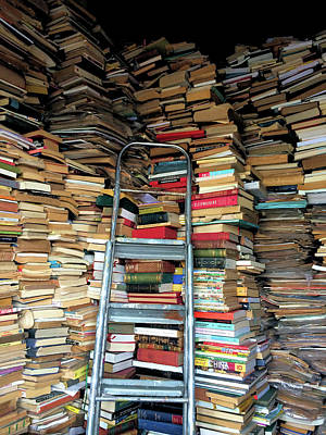 Photograph - Books For Sale by Cheryl Hoyle
