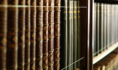 Photograph - Books by Michael Hope