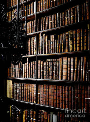 Photograph - Books Of Knowledge 1 by Lexa Harpell