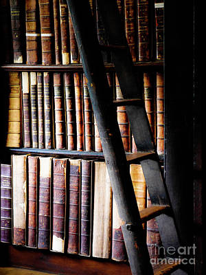 Photograph - Books Of Knowledge 2 by Lexa Harpell