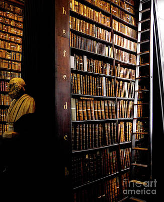 Photograph - Books Of Knowledge 3 by Lexa Harpell