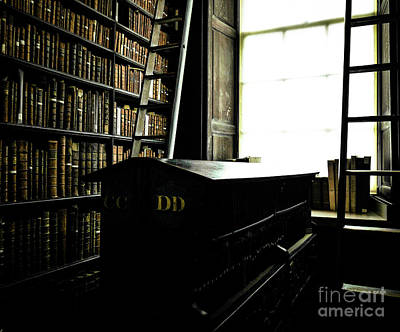 Photograph - Books Of Knowledge 5 by Lexa Harpell
