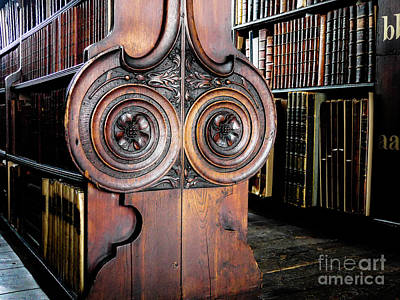 Photograph - Books Of Knowledge 6 by Lexa Harpell