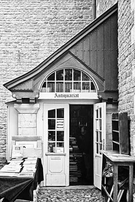 Church Display Photograph - Bookstore by Benjamin Matthijs