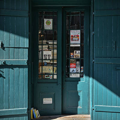 Photograph - Bookstore - French Quarter - New Orleans by Greg Jackson
