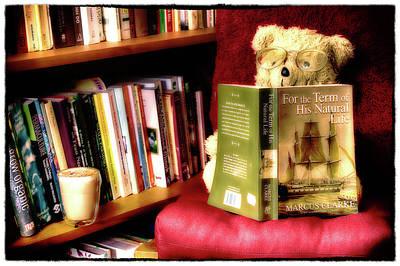 Photograph - Bookworm Ted by Brett Christensen