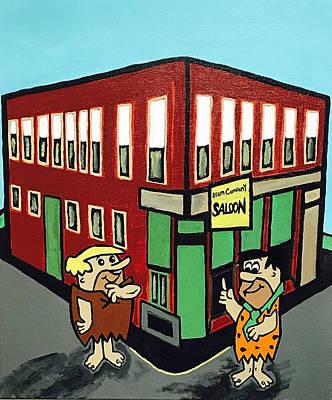 Painting - Boom Company Saloon by Jonathon Hansen
