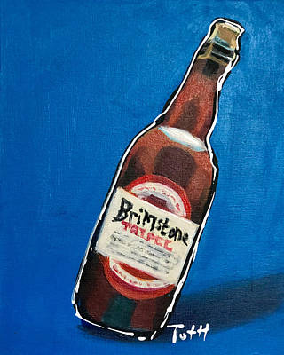 Growler Painting - Boom Island by Laura Toth