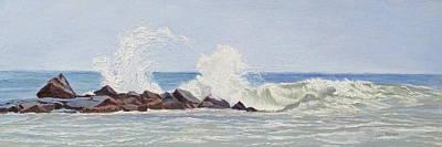 Painting - Boom Splash by Lea Novak