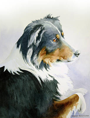 Painting - Boomer by Brenda Beck Fisher