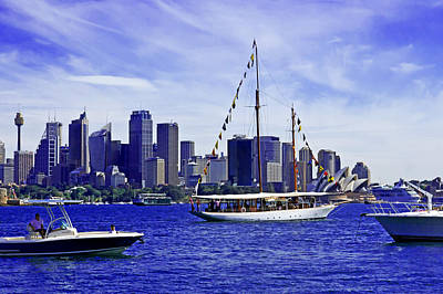 Photograph - Boomerang Sailing Sydney 100 Years  by Miroslava Jurcik