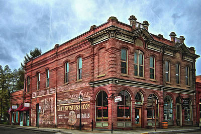 Boomtown Saloon Jacksonville Oregon Art Print