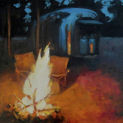 Painting - Boondocking At The Grand Canyon by Elizabeth Jose