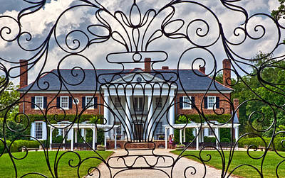 Photograph - Boone Hall Plantation by Ginger Wakem