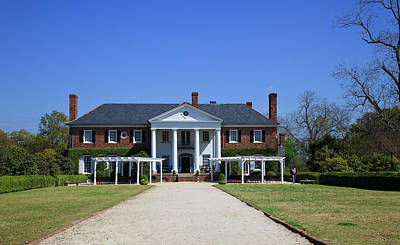 Photograph - Boone Hall Plantation Home by Jill Lang
