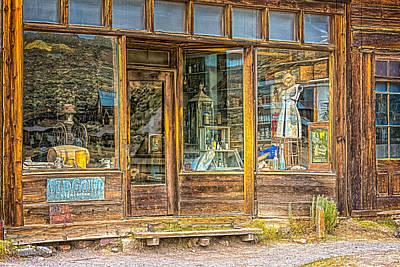 Photograph - Boone Store Bodie  by LeeAnn McLaneGoetz McLaneGoetzStudioLLCcom