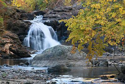 Photograph - Boonton Falls 3 by Allen Beatty