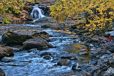 Photograph - Boonton Falls 4 by Allen Beatty