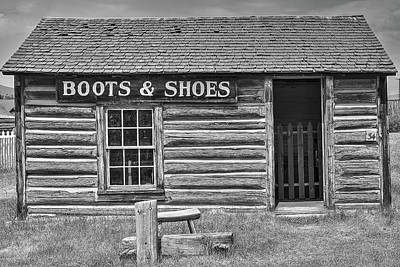 Photograph - Boot And Shoes by Richard J Cassato