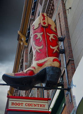 Downtown Nashville Digital Art - Boot Country by Art Spectrum