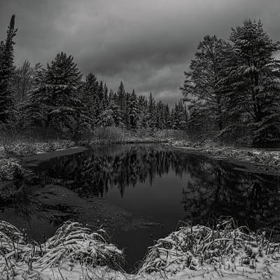 Photograph - Boot Creek Winter Afternoon by Dale Kauzlaric