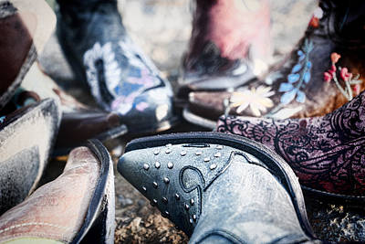 Photograph - Boot Details by Sharon Popek