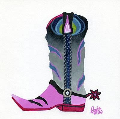 Painting - Boot Scootin by Stephanie Agliano