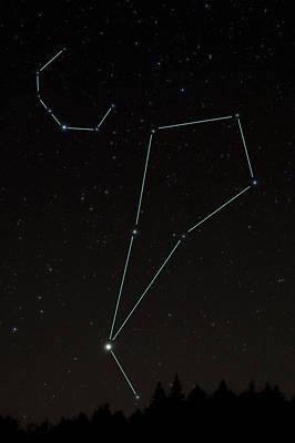 Photograph - Bootes And Corona Borealis Constellations by Larry Landolfi