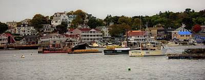 Photograph - Boothbay  Harbor by Sherman Perry