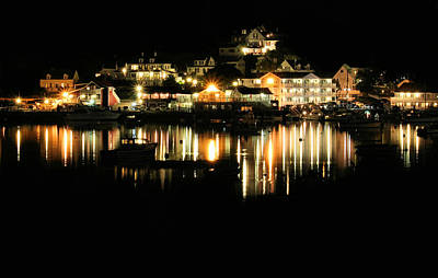 Photograph - Boothbay Harbor Glow by Carolyn Jacob